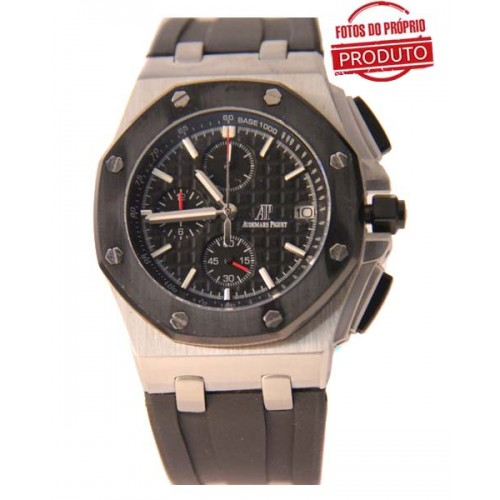 Audemars Piguet Oak Silver Black