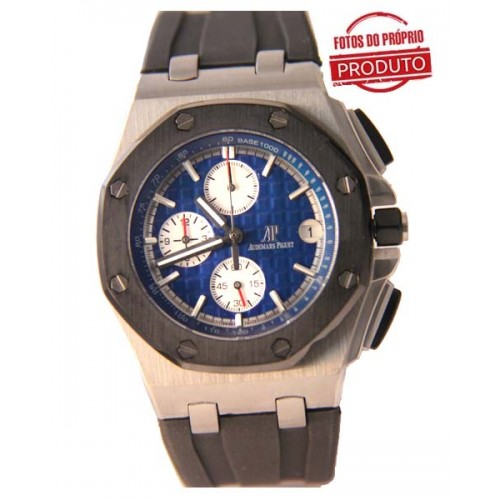 Audemars Piguet Oak Silver Blue