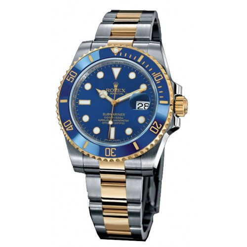 Relogio Rolex Submariner Blue Gold