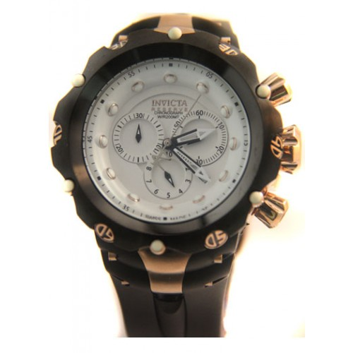 Invicta Reverse Gold White
