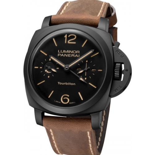 Panerai Luminor Toubillon GMT Cerâmica