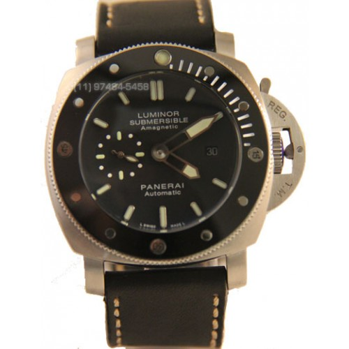 Panerai Submersible Ceramica Black